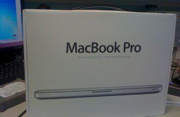 Macbook Pro 13.3″ 入手